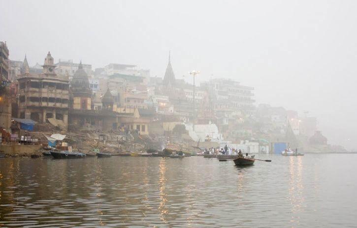 varanasi most polluted city