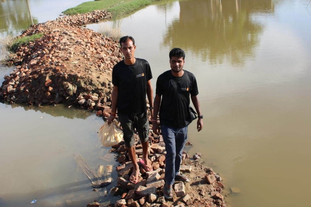 youth-led NGO Raindrops Foundation.
