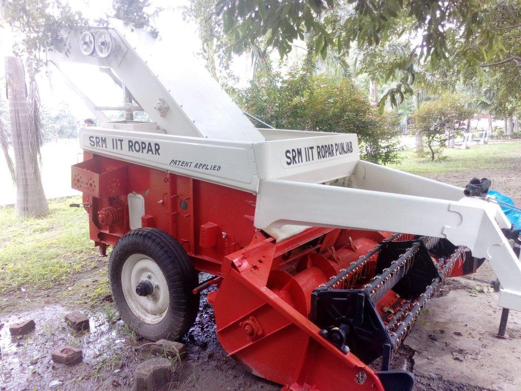 IIT Ropar bring a stubble removal machine