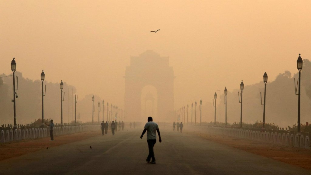 Sky-high levels of pollution in Delhi