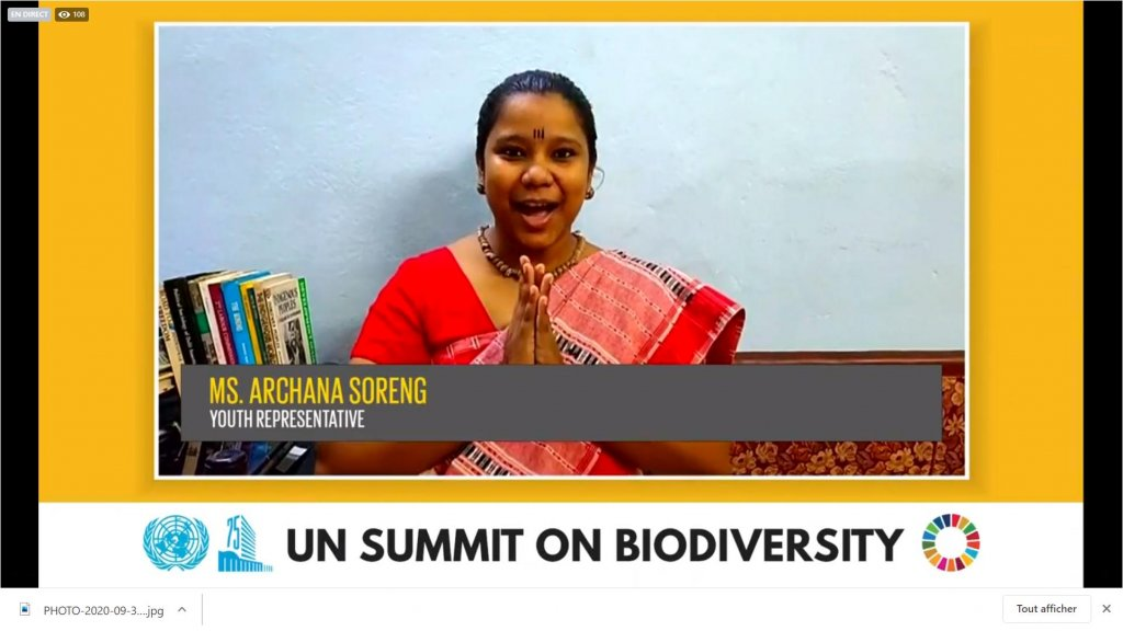 Urgent action on biodiversity for sustainable development""