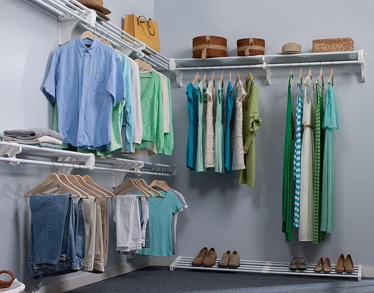 Sustainable closet